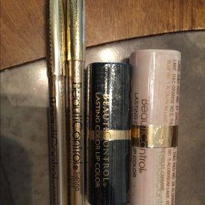 BEAUTICONTROL makeup lip color bundle new & sealed